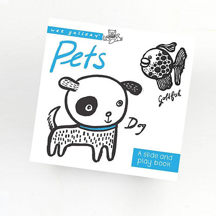 Wee Gallery Slide and Play Book -Pets