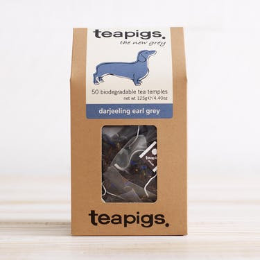 Teapigs - Darjeeling Earl Grey Tea Temples x 50