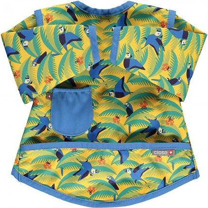 Pop-in Coverall Bib Stage 4 - Endangered Animal Collection