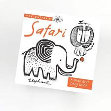 Wee Gallery Slide and Play Book -Safari