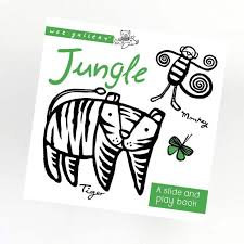 Wee Gallery Slide and Play Book -Jungle