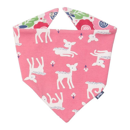 Kite Clothing Little Deer Reversible Bib