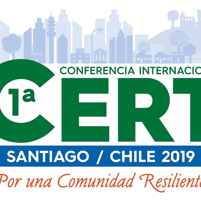 1ª CONFERENCIA INTERNACIONAL CERT CHILE 2019