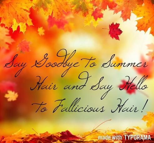 Fall! Fall! Fall!