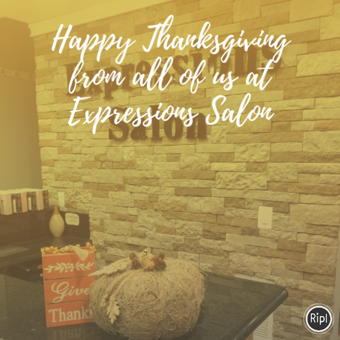 Happy Thanksgiving From Expressions!!