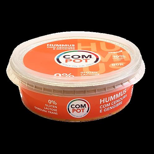 HUMMUS COM CENOURA E GENGIBRE 200g