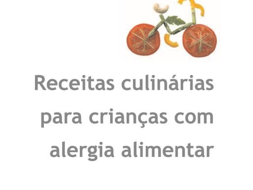 Receitas culinárias para crianças com alergia alimentar