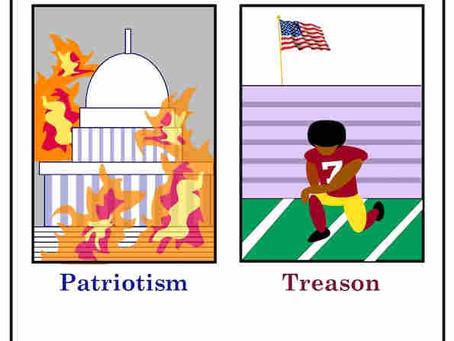 Patriotism vs Treason