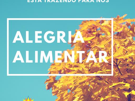 ALEGRIA ALIMENTAR: a mensagem que a alergia alimentar está trazendo para nós.
