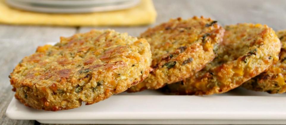 Hambúrguer vegetariano de quinoa e cogumelos - por Bela Gil (GNT)