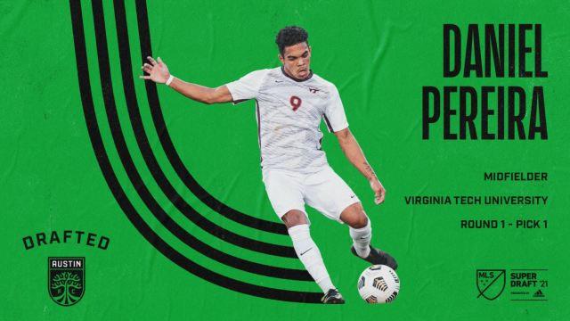 Austin FC announces Daniel Pereira as the first pick