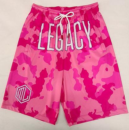 Pink Legacy Camo Shorts