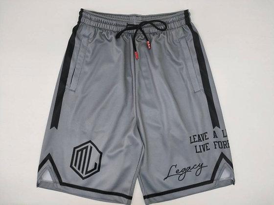 Gray Legacy Shorts
