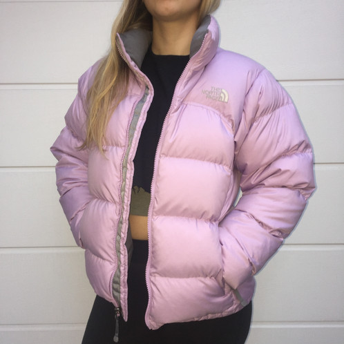 The North Face 700 Down Puffer Jacket - Lilac   Purple ac6f0a5c2