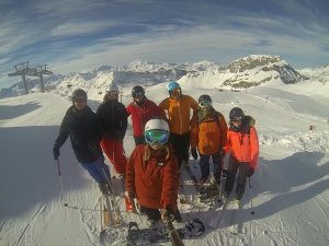 NETWORKING ON THE SLOPES