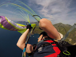 paragliding acro. Michael Dearman
