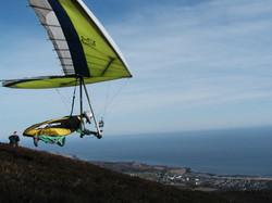 Irene Carson - take off 2 Ben Bhraggie - golspie in view