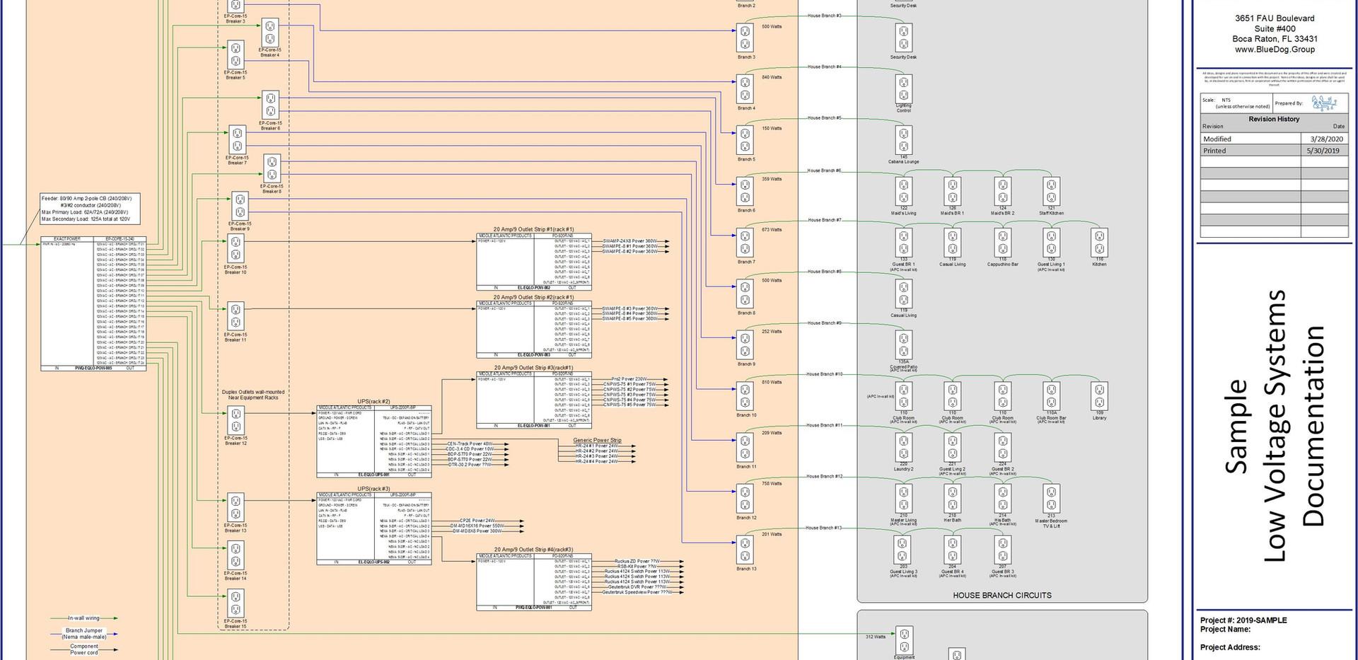 BDG-Sample LV Drawings-LV-v1.0-Tech Powe