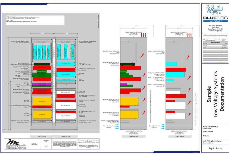 BDG-Sample LV Drawings-LV-v1.0-Rack Elev