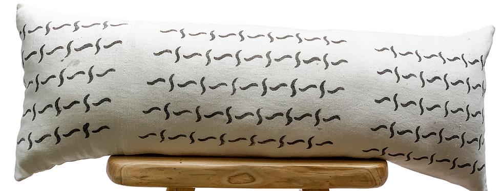 Barbs Bolster Pillow Cover