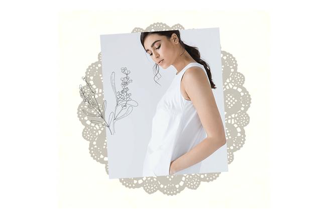 Acantha Cotton Sack Dress