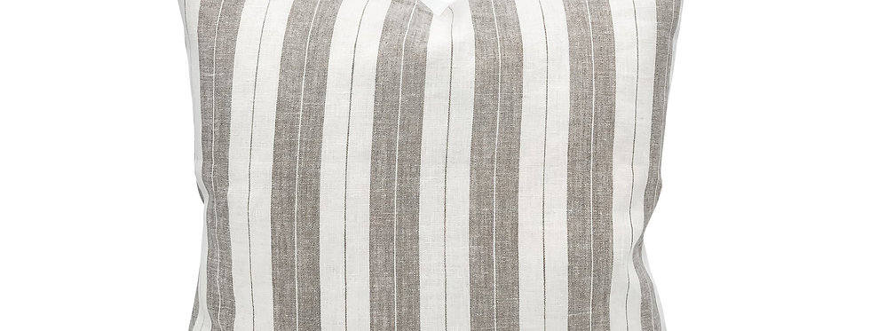 Merlin Linen Stripe Pillow Cover