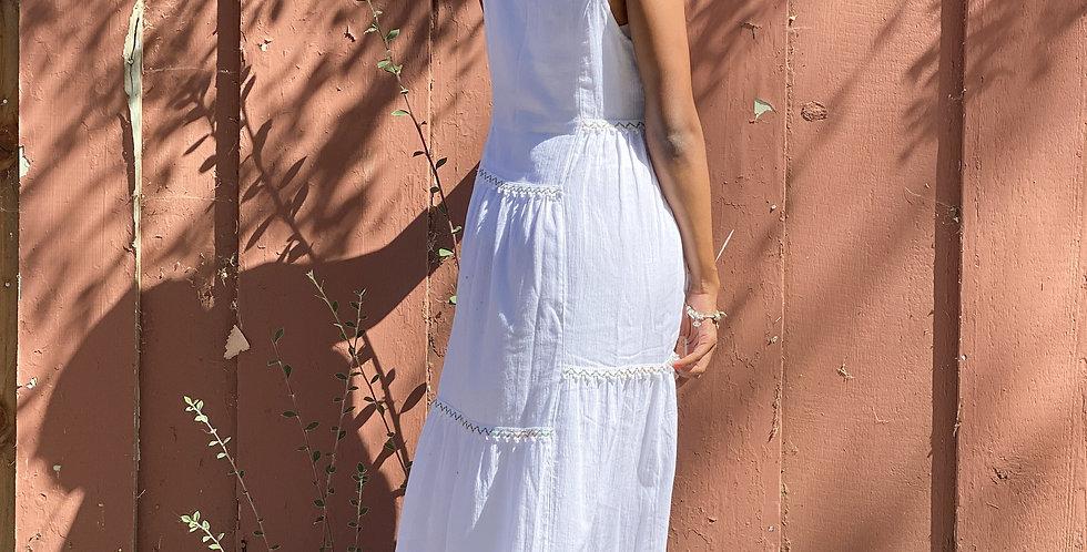 Hera Maxi Dress - White