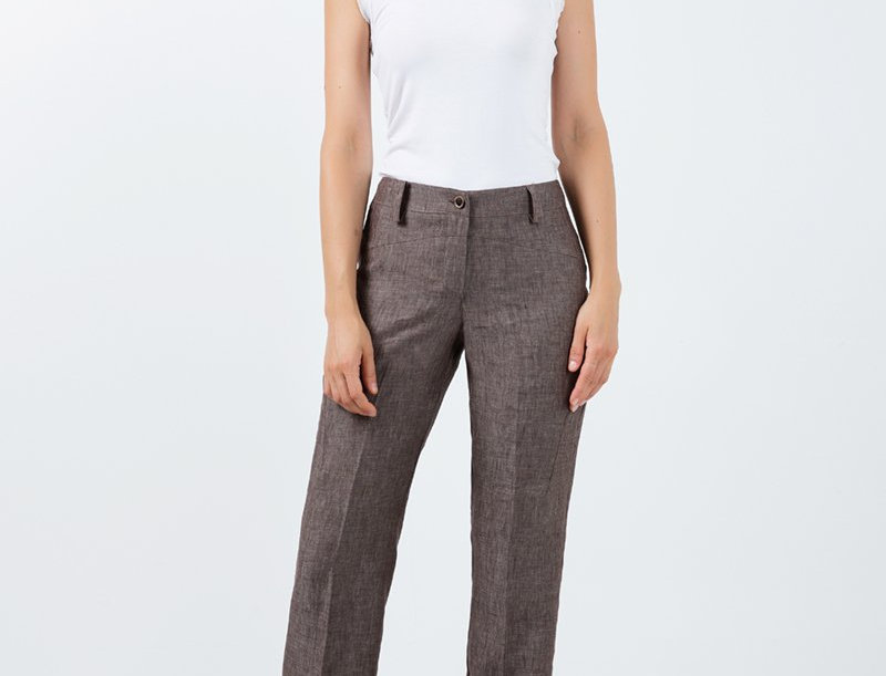 Chios Straight Linen Pants