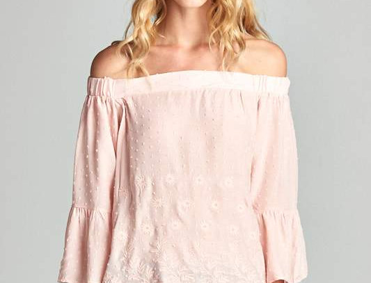 Hannah Embroidered Top