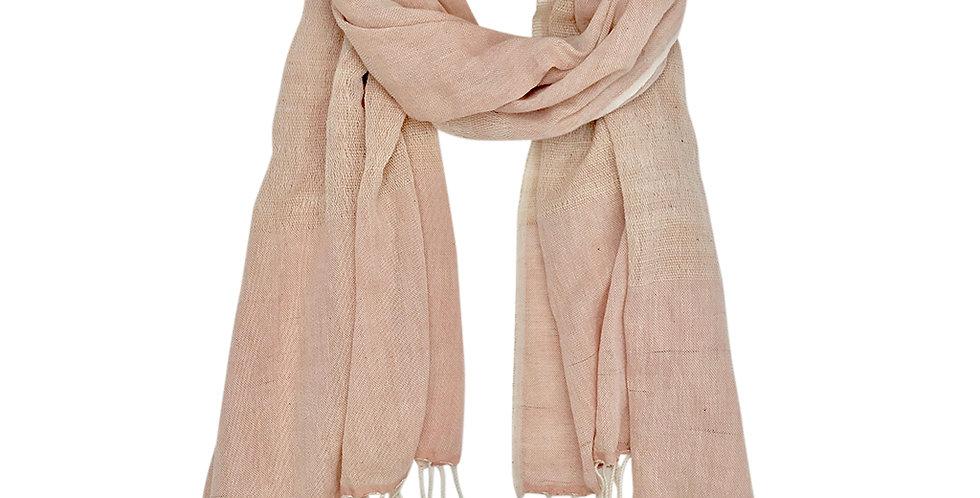 Whitby Organic Cotton Scarf - Blush