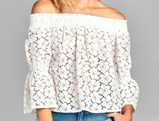 Courtenay Lace Top