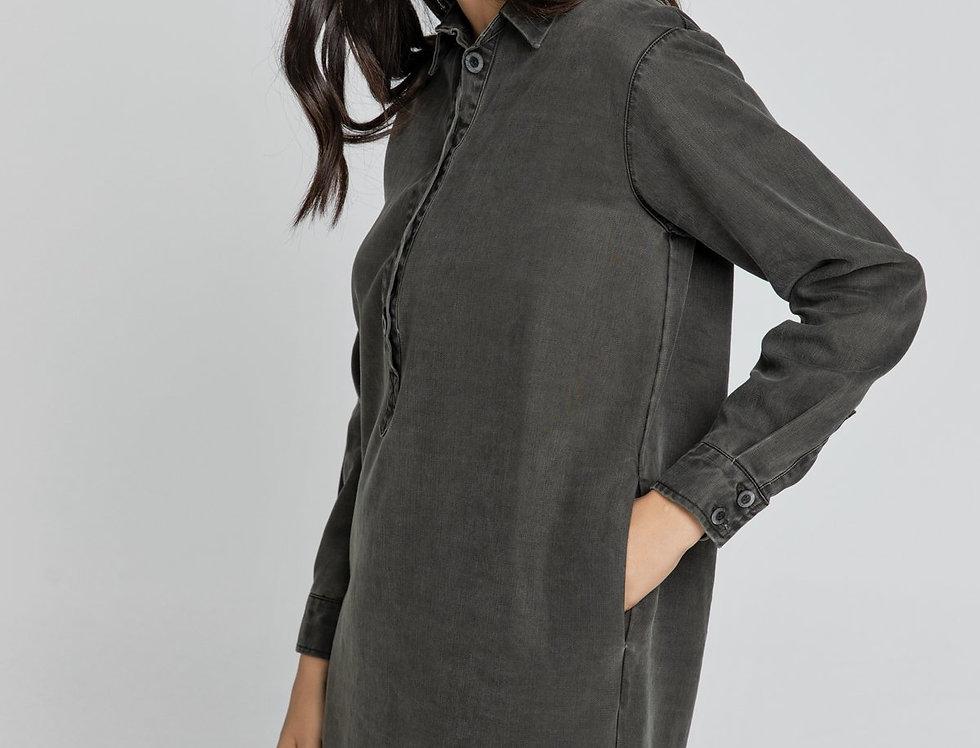 Karis Tencel Shirt Dress