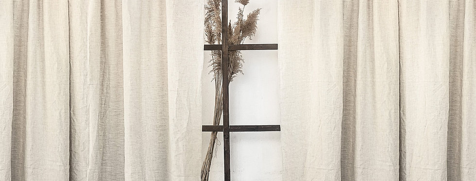 Morland Linen Pocket Curtain 1 Panel