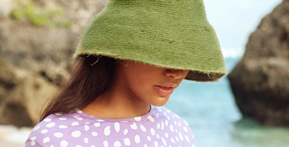 Naomi Bucket Hat - Matcha Green