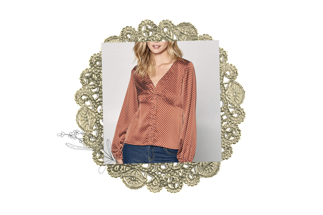 The Courtenay Blouse