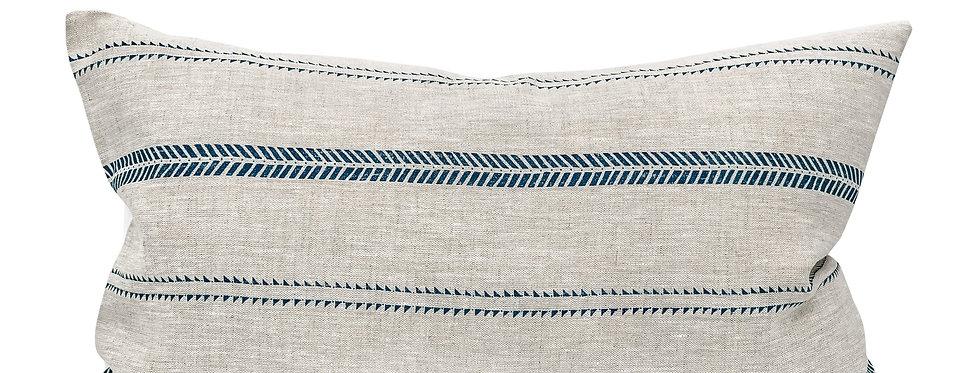 Camillie Stripe Lumbar Pillow Cover