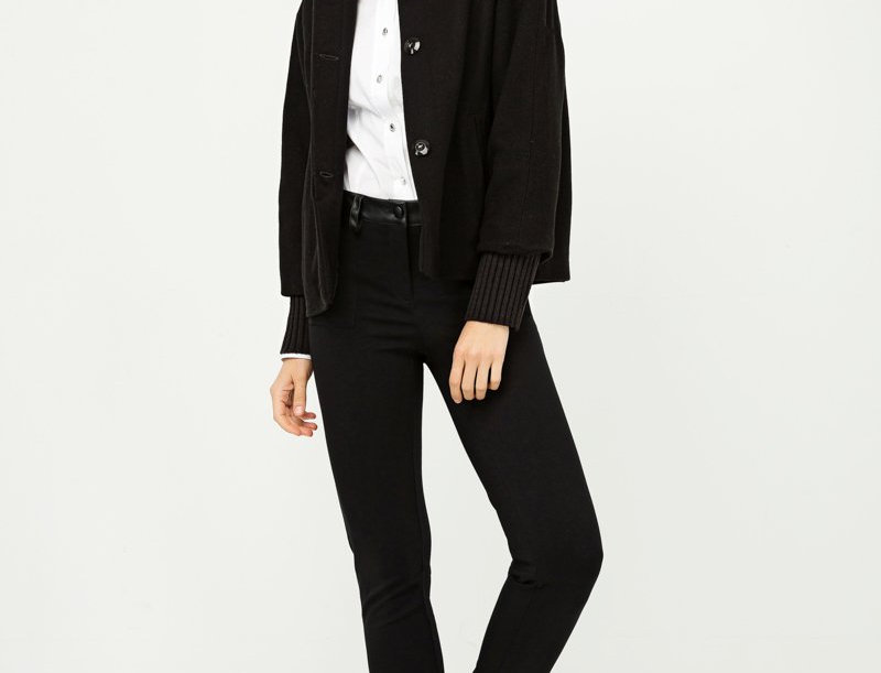 Pefka Wool Short Jacket