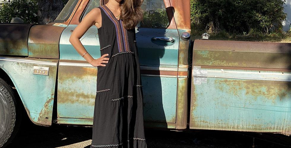 Hera Maxi Dress - Black
