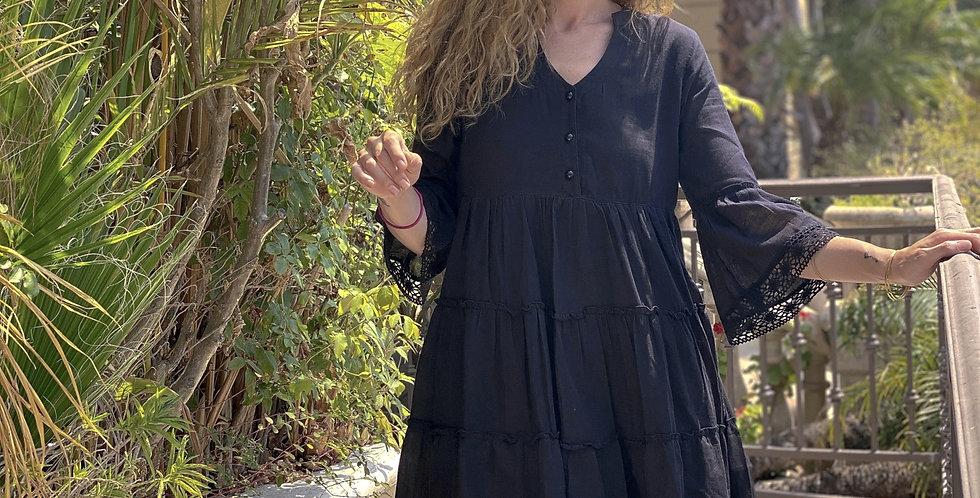 Mika Mini Dress - Slate