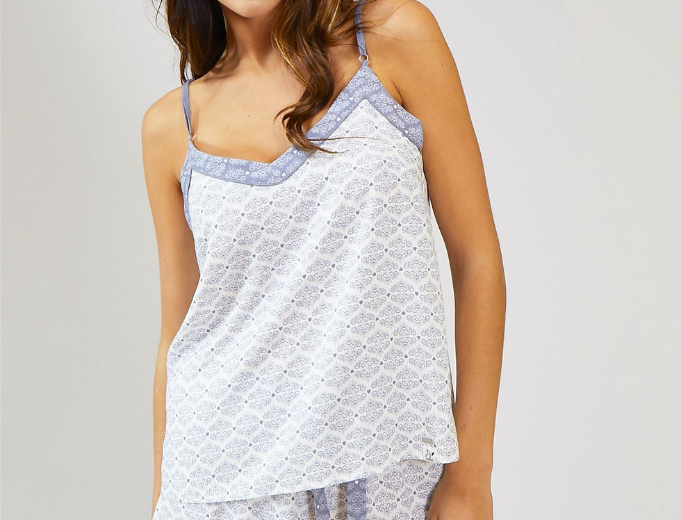 Olivia Organic Cotton Cami Top (only)