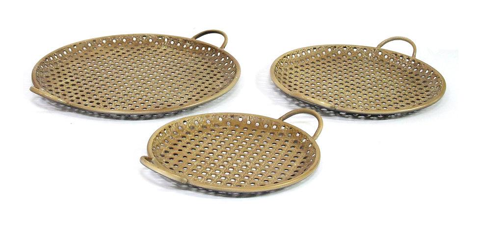 Adelie Metal Trays - Set 3