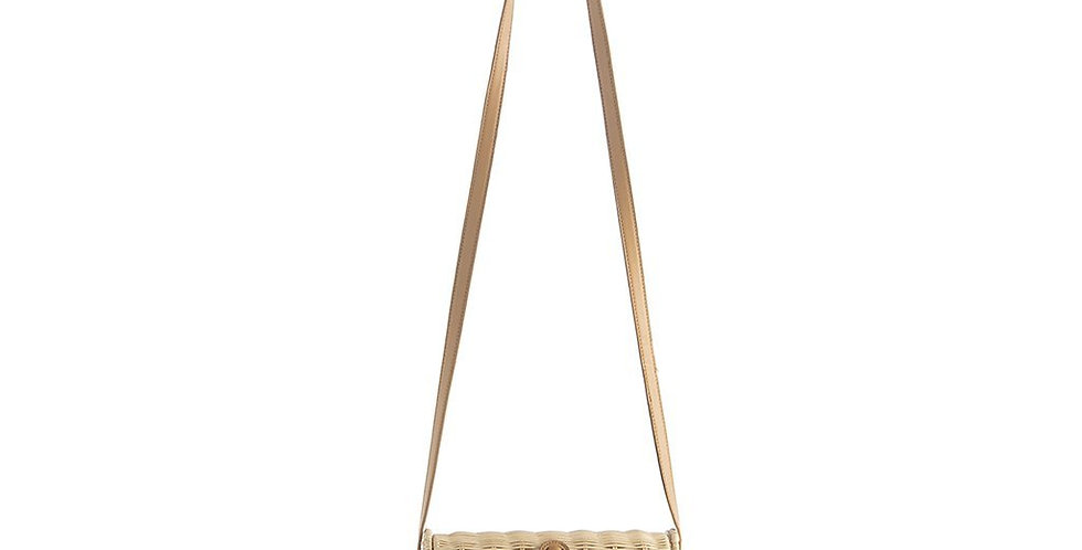 Bali Box Crossbody Bag - Natural
