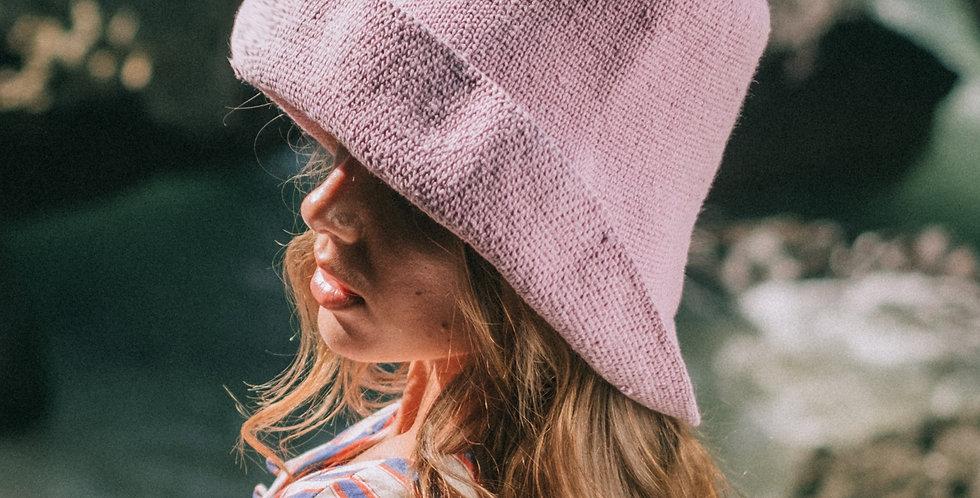Bloom Crochet Hat - Lilac
