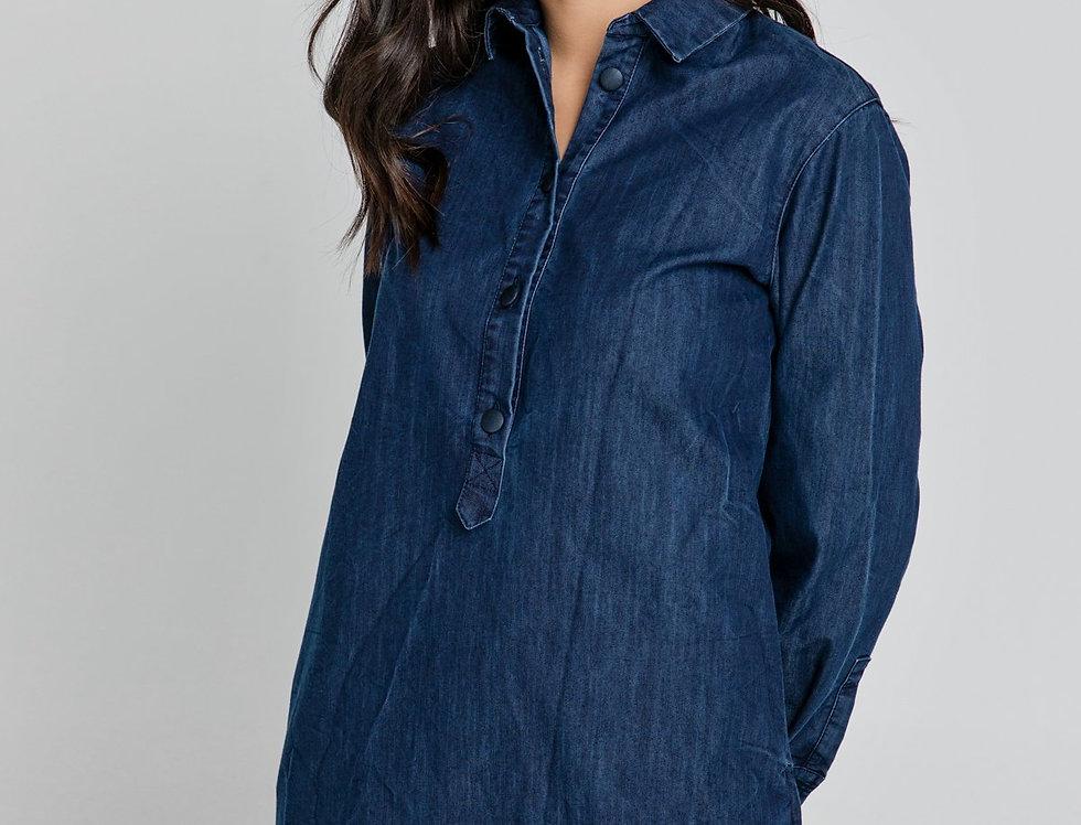 Patia Denim Shirt Dress