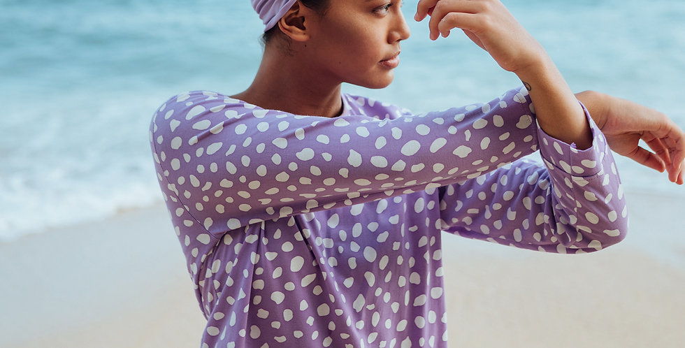 Arnoldi Organic Cotton Sweatshirt - Lilac