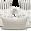 Thumbnail: Valle Mar Linen Stripe Pillow Cover