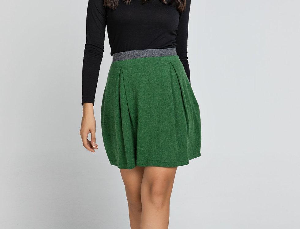 Troya Mini Skirt - Green