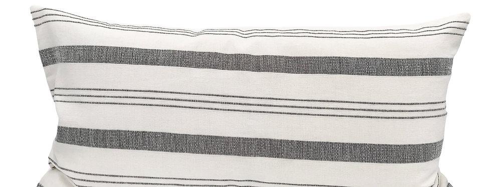 Lima Stripe Lumbar Pillow Cover