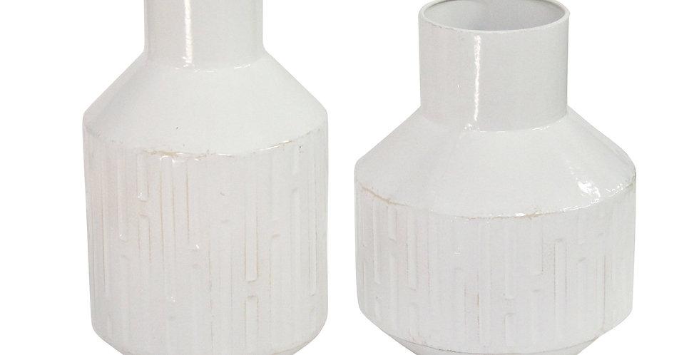 Machias Metal Vases - Set 2