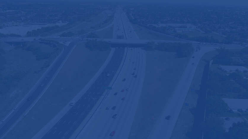 Interstate 95 at Woolbright Aerial